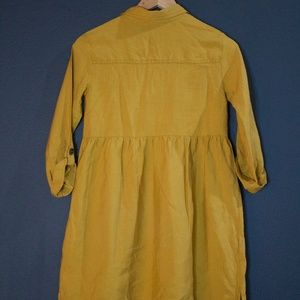 Zara Kids Mustard Dress